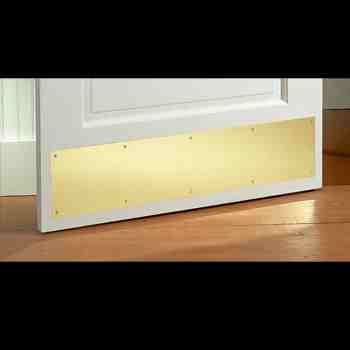 Kick Plate Design Accents The Renovator S Supply Door Kick Plates Kick Plate Home Hardware