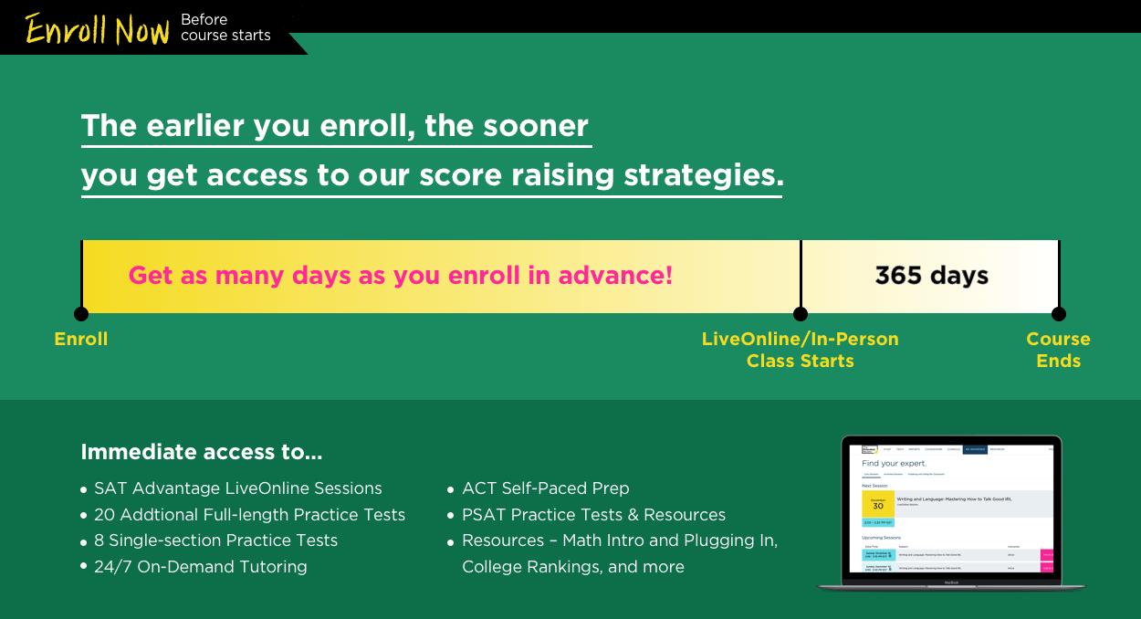 SAT 1400 SAT Prep Classes The Princeton Review Sat
