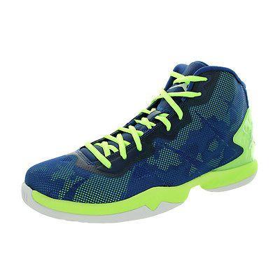 e8b309317699 Jordan Super.Fly 4 Mens 768929-405 Blue Ghost Green Basketball Shoes ...