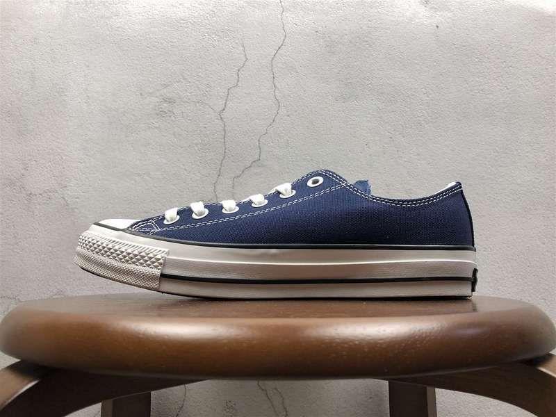 4157d20c921 Acheter Unisex Converse All Star Low 100 Colors OX Prussian Blue White  blanc Black Noir Youth Big Boys Shoes