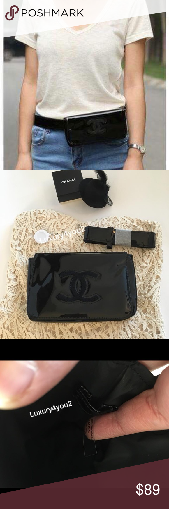 6d0f24ee8a77 Authentic Chanel VIP Gift fanny pack belt bag. Chanel VIP gift waist belt  bag.