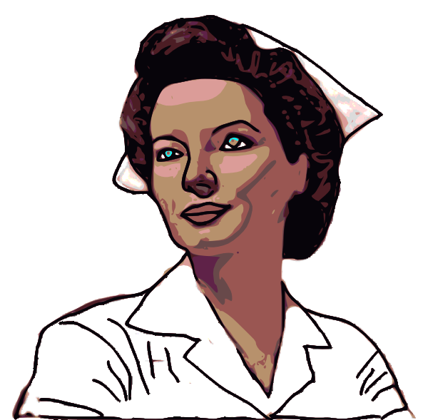 Nurse Computer Clip Art Nurse clip art vector clip art