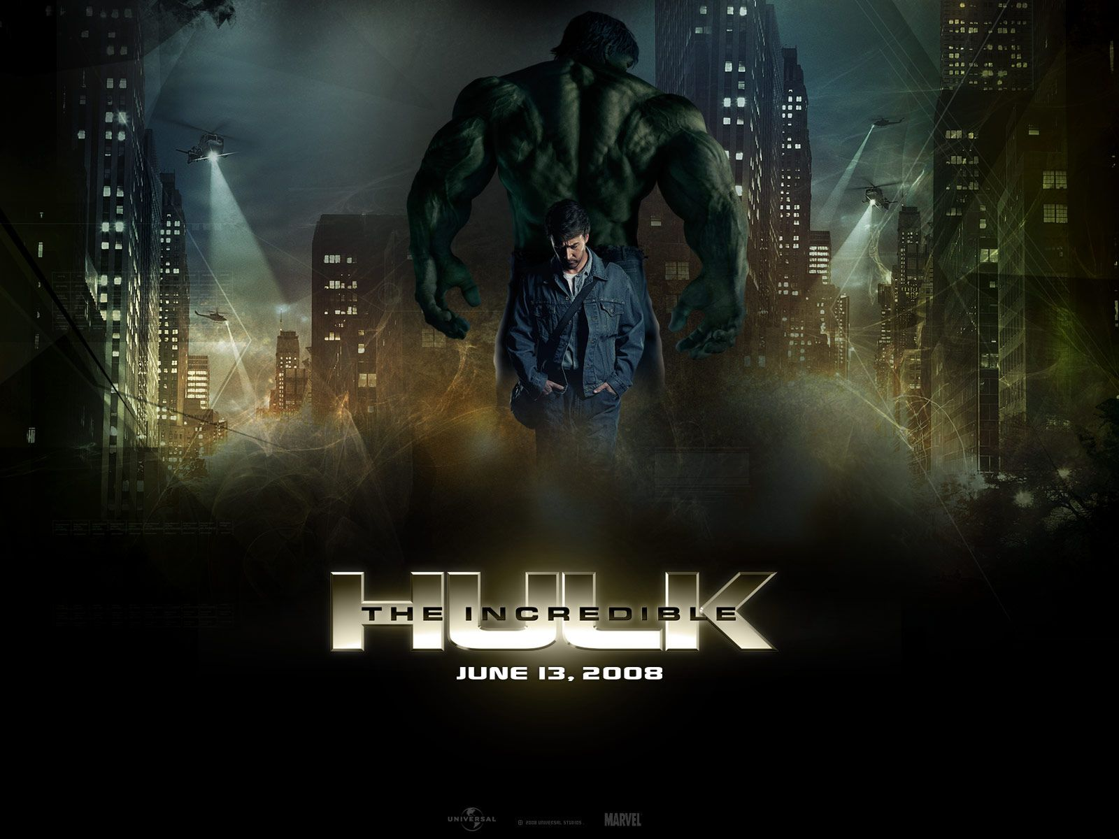 Edward Norton Brilliant As Ever The Incredible Hulk 2008 The Incredible Hulk Movie Incredible Hulk