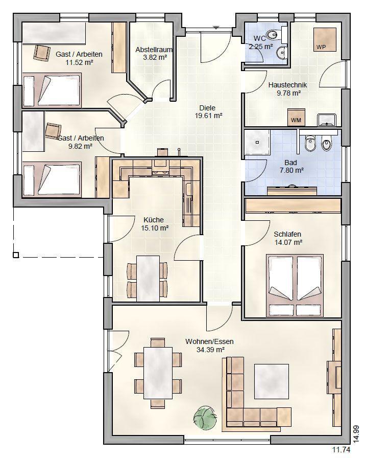 Bungalow Behringen Ohrdrufer Hausbau OHB house