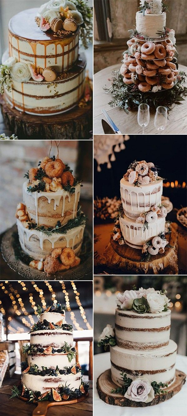 25 Trending Delicious Fall Wedding Cakes for 2019 - Page 2 of 2 #fallweddingideas