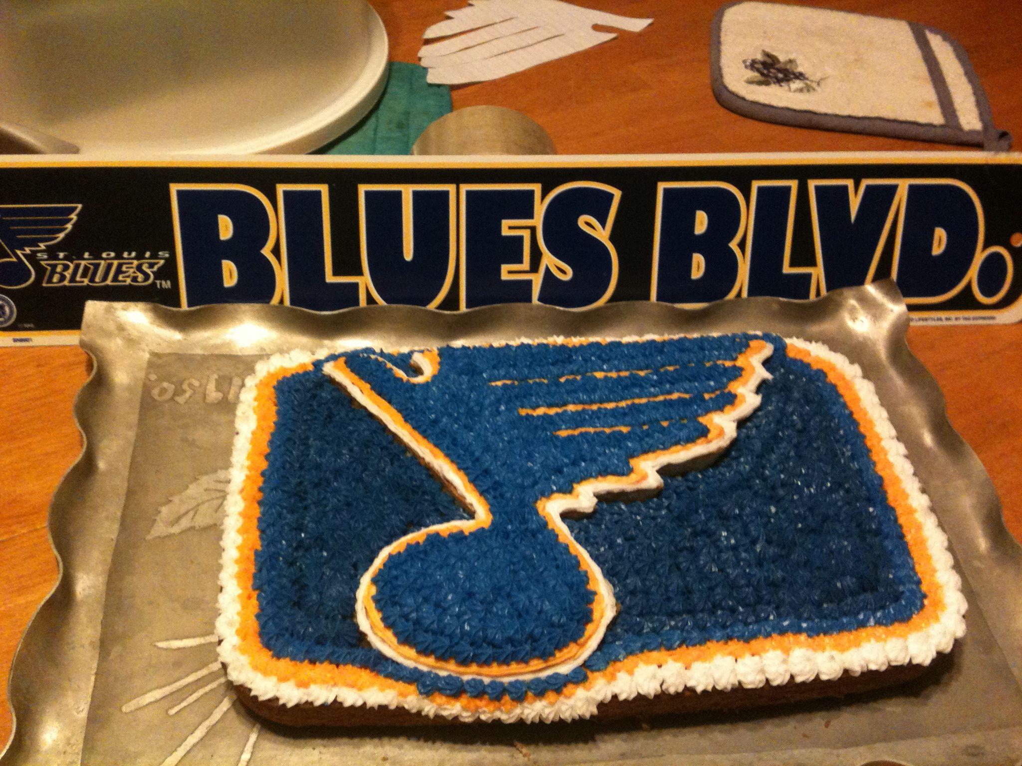 St Louis Blues 19th Birthday Cakes My Birthday Cake Cupcake Cakes