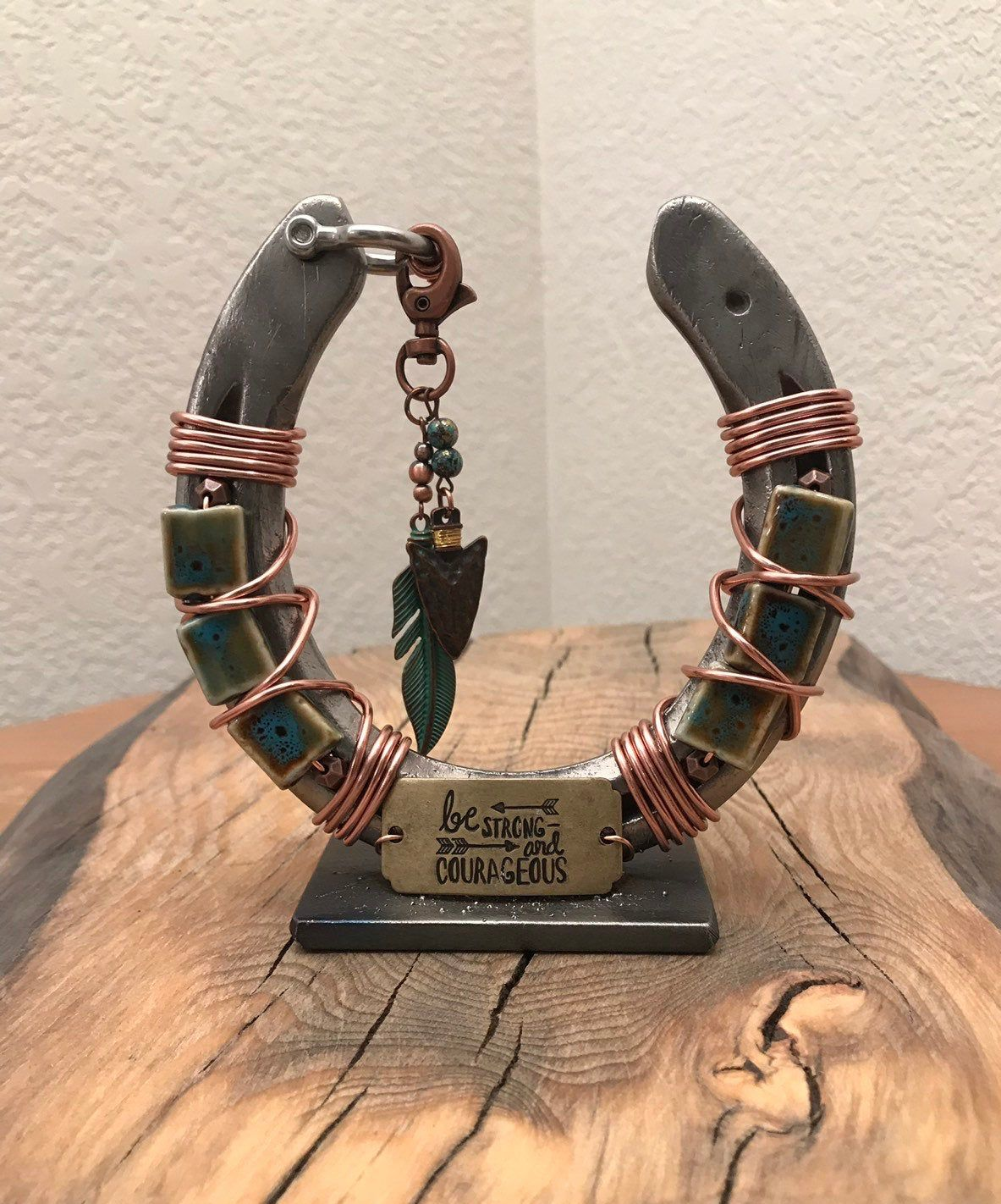 Excited To Share This Item From My Etsy Shop Decorated Horseshoe