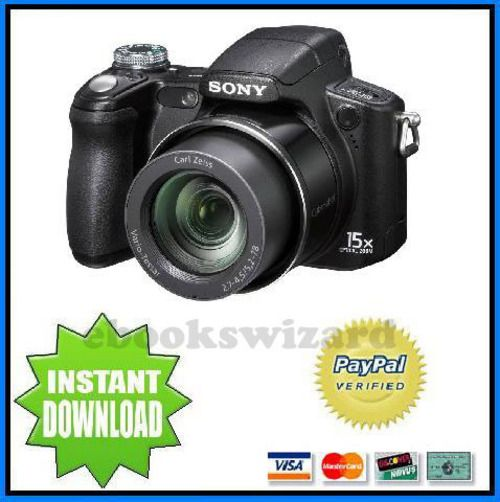 sony h50 manual good owner guide website u2022 rh blogrepairguide today Sony DSC H50 Review Sony A6000