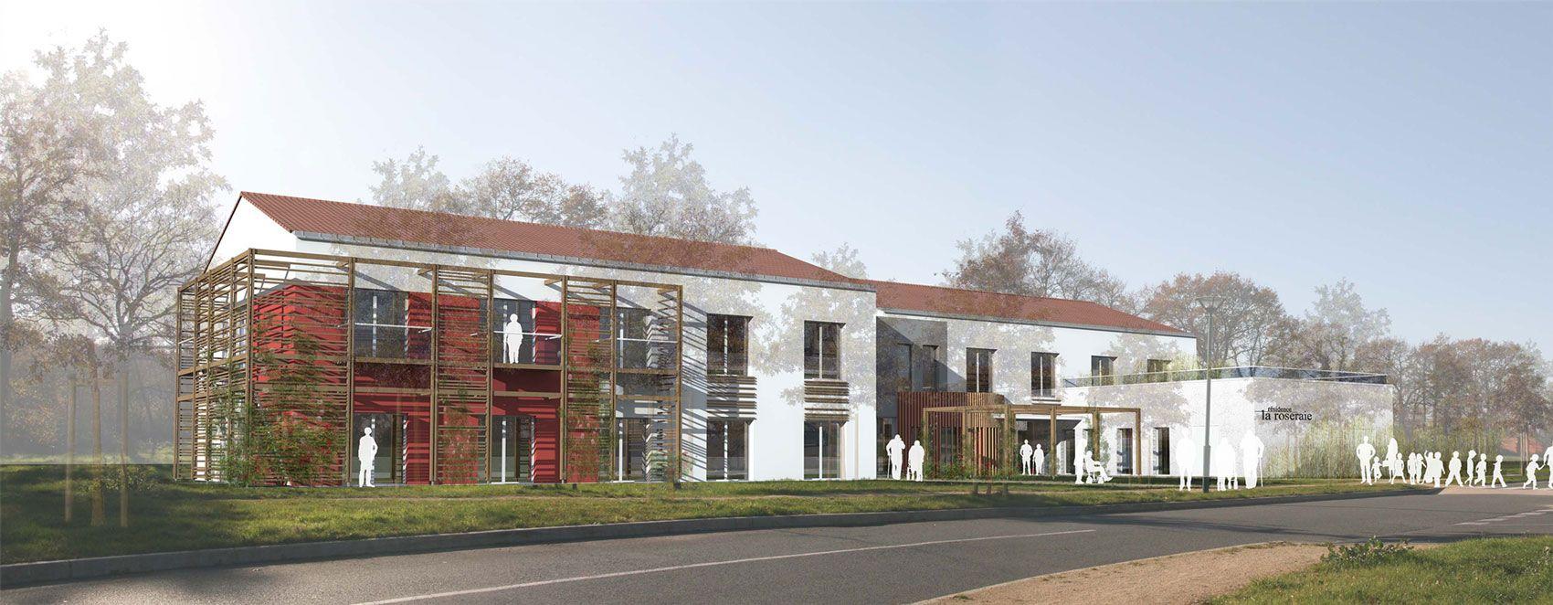 EHPAD 30 logements - Boufféré (85) - Archi Urba Deco   projets et ...