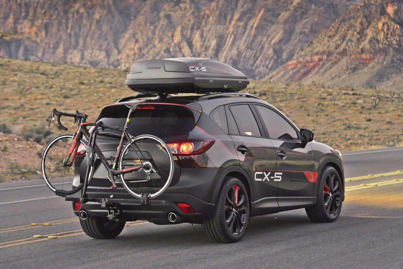 Mazda Cx 5 Dempsey Rear Bike Jpg 1600 1067 Mazda Cx5 Mazda Mazda Cars