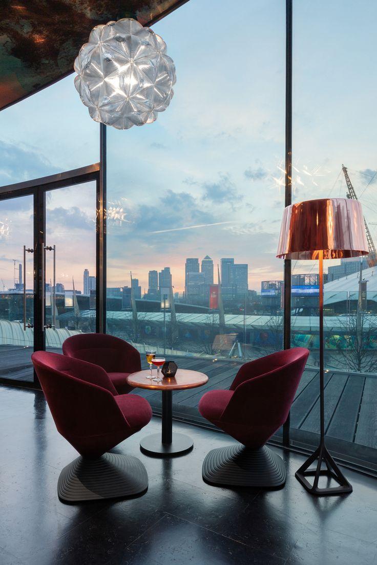 Lens Pendant Pivot Chair Low Base Floor Light At Craft London Tom Dixon Design Luxury Lamps