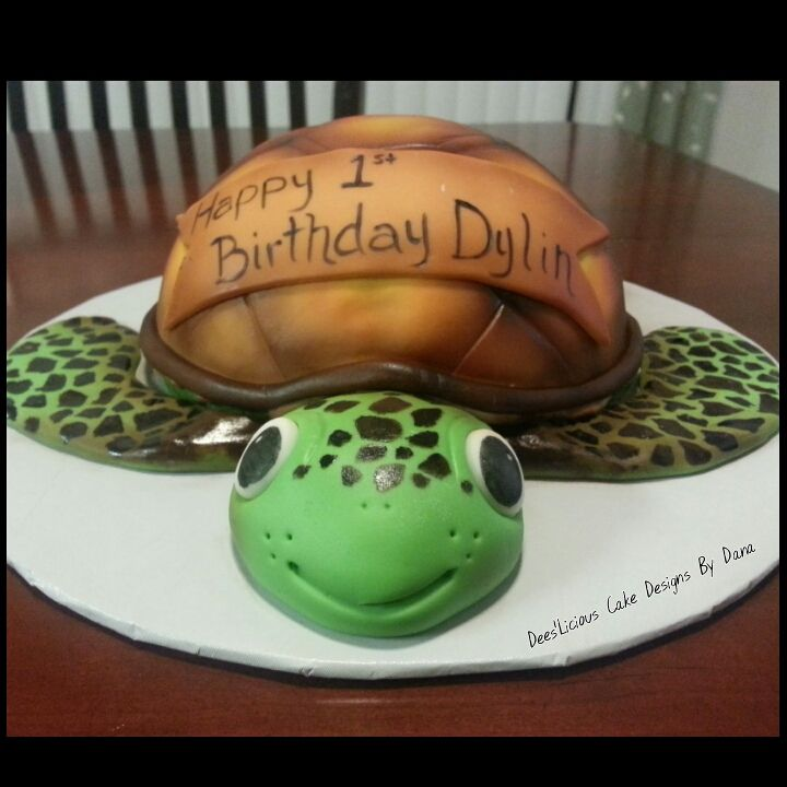 Awesome Sea Turtle Smash Cake By Deeslicious Cakes By Dana With Images Funny Birthday Cards Online Inifofree Goldxyz