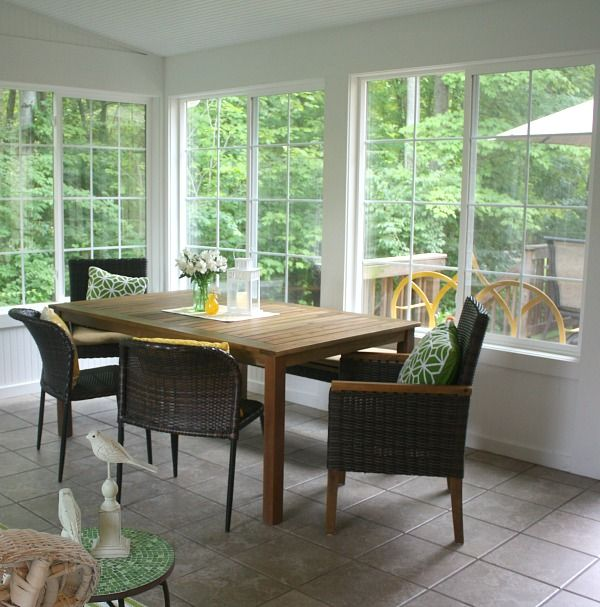 Interior Sunroom Addition Ideas: My Sunroom: Come In And Sit A Spell