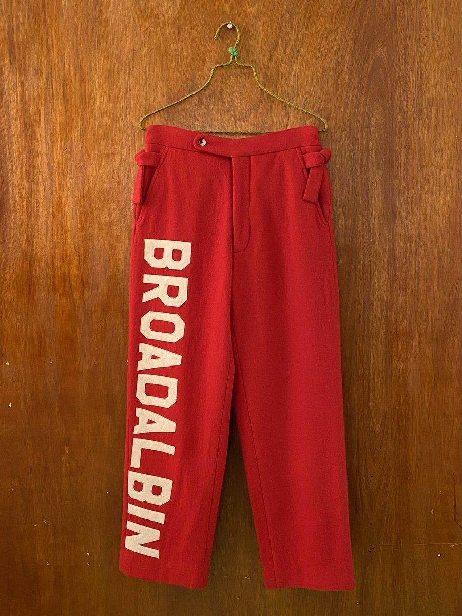 Red Horse Blanket Trouser Red Horse Horse Blankets Trousers
