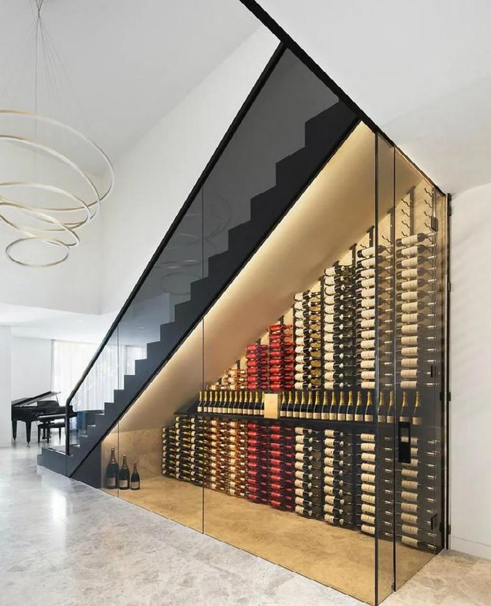 Top 70 Best Under Stairs Ideas: 30+ Popular Wine Cellar Ideas Under The Stairs 2020 22