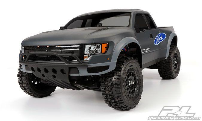 True Scale Ford F 150 Raptor Svt Clear Body Trucks Ford Trucks