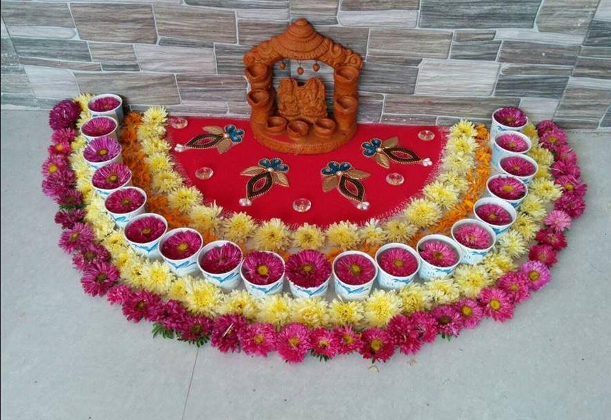 Creative rangoli designs rangoli pinterest rangoli for Home made rangoli designs