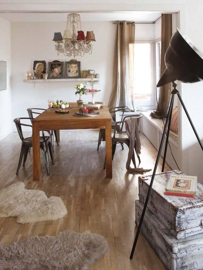 Un piso en Barcelona con un mix perfecto de nuevo y vintage | Decorar tu casa es facilisimo.com
