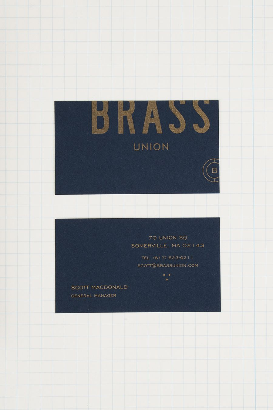 New Brand Identity for Brass Union by Oat — BP&O | Business cards ...