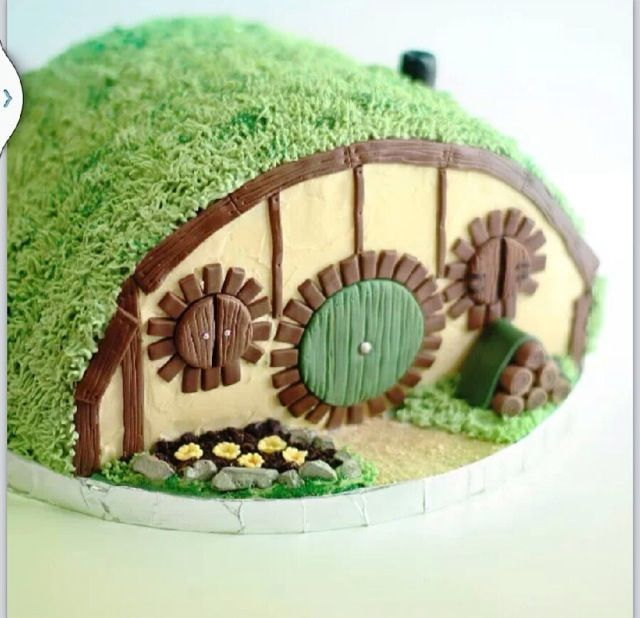 hobbit house cake hobbit house cake birthdaay cakes kids pinterest hobbit kuchen herr. Black Bedroom Furniture Sets. Home Design Ideas