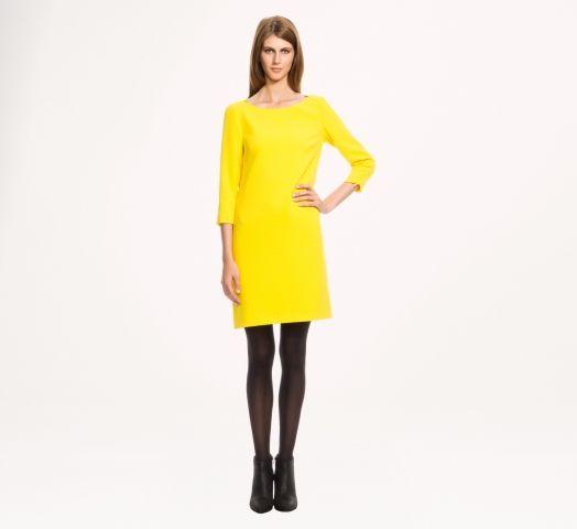 Robe jaune chez 123