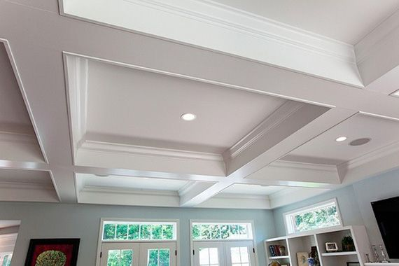 Ideas And Tips For Finishing A Basement Ceiling Ceiling Tiles Basement Basement Ceiling Basement Ceiling Ideas Cheap