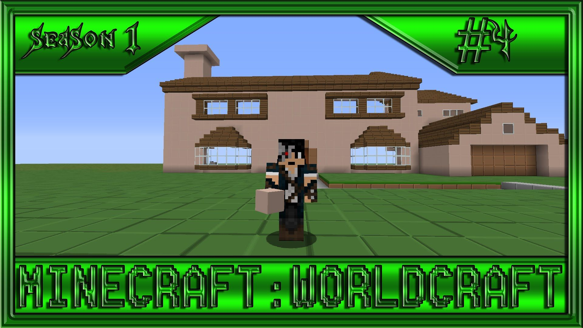 MINECRAFT WORLDCRAFT 2 THE SIMPSONS HOUSE PART 1 MINECRAFT WORLDCRAFT SEASON 1