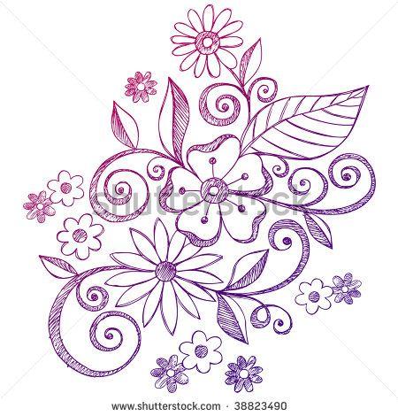 flower vine vector