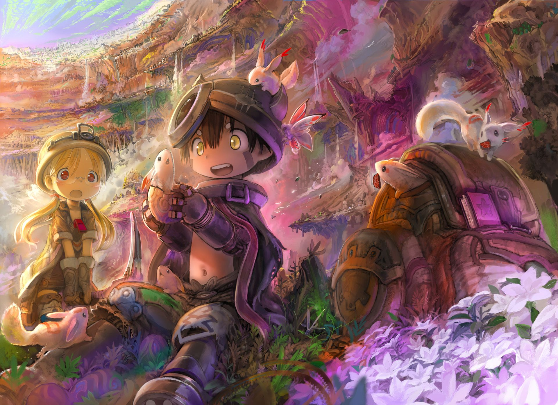 Made in Abyss OP Single Deep in Abyss Anime, Filmes de