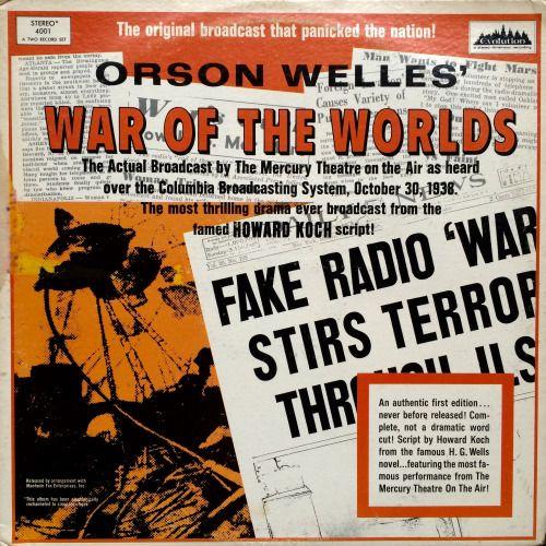 Pin by Teresa Ellen on Orson Welles | World radio, War of ...