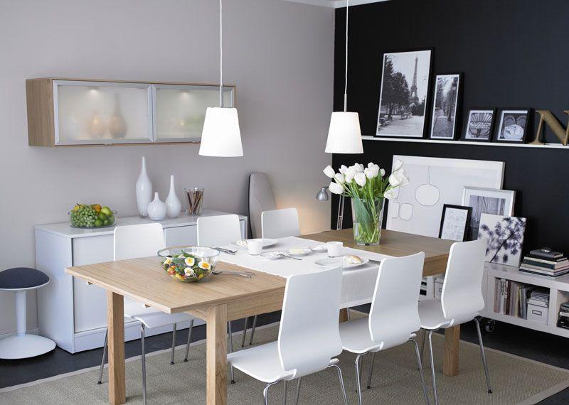 Qué os parece esta mesa de ikea con la silla Luna de Casa? | mesa de ...