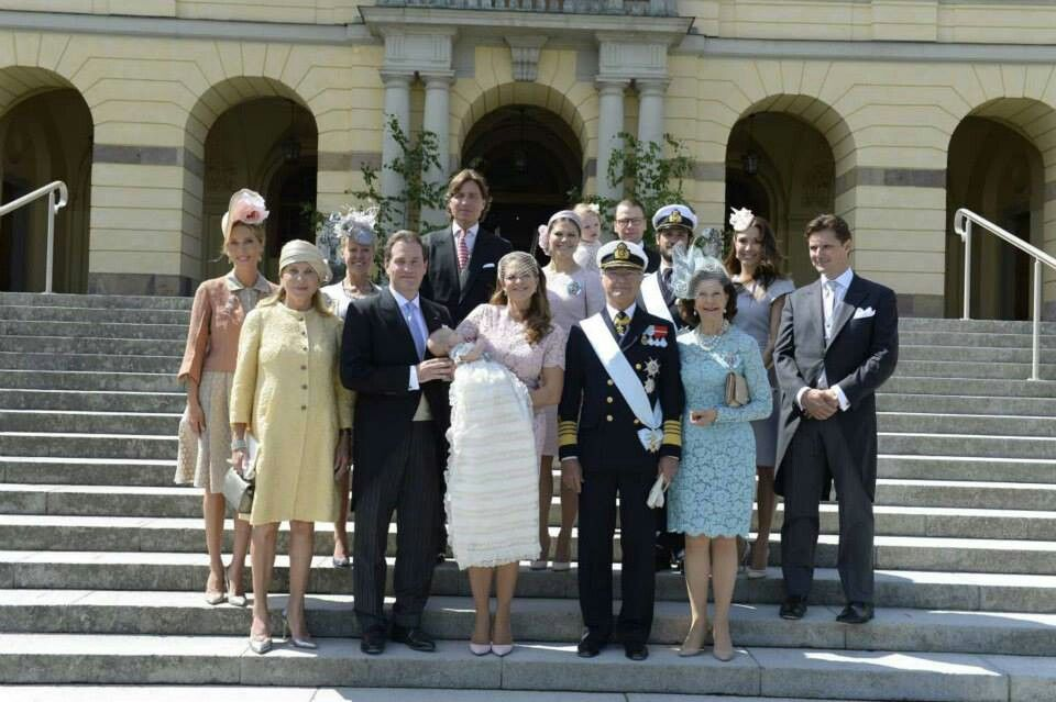 Christening day of Princess Leonore