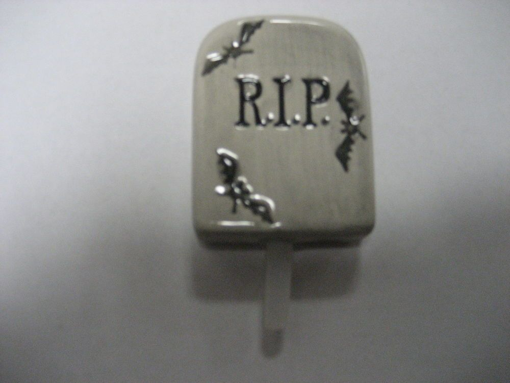 NORA FLEMING TOMBSTONE  MINI - DISCONTINUED #NORAFLEMING