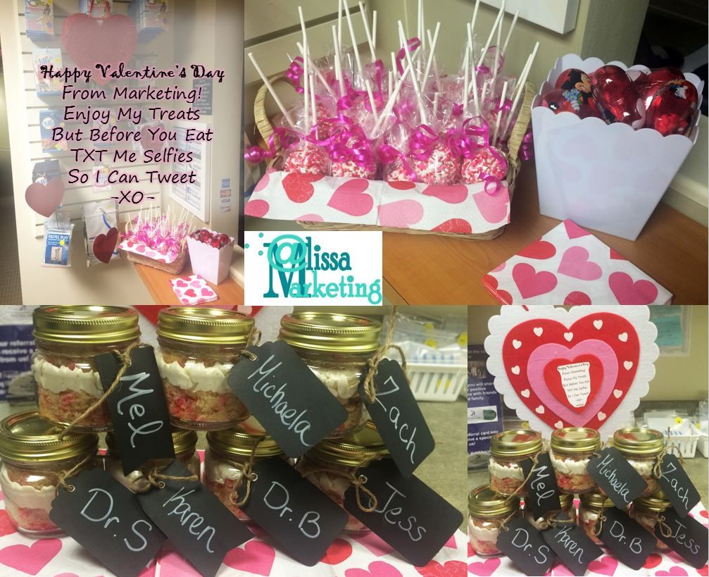 office valentine gifts. Gifts For Our Patients (cake Pops) And Staff (cupcake Cups Office Valentine N