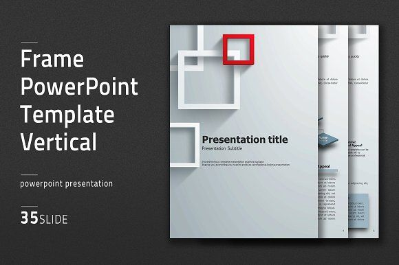 Frame powerpoint template vertical by good pello on creativemarket frame powerpoint template vertical by good pello on creativemarket toneelgroepblik Gallery