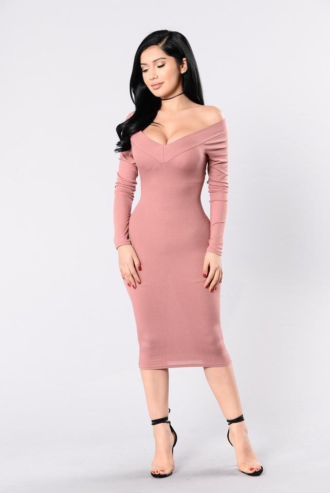 The Way You Love Me Dress - Mauve | Vestidos ajustados, Juveniles y ...