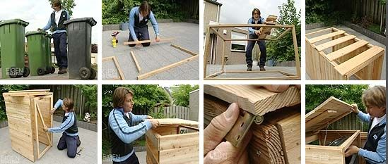 Eigen huis en tuin kliko ombouw bouwtekening try for Eigen huis en tuin kast maken