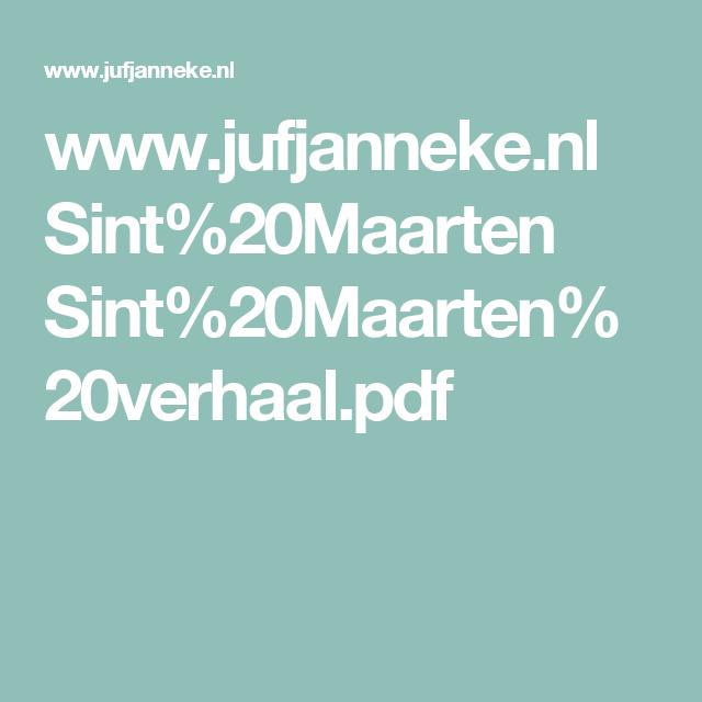 www.jufjanneke.nl Sint%20Maarten Sint%20Maarten%20verhaal.pdf