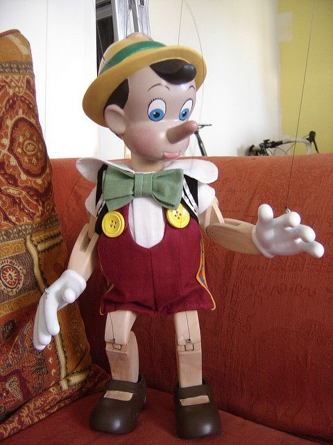 The New Pinocchio Marionette By The Original Toy Company NEW