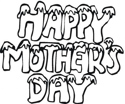 Mothers Day Colouring Pages Children | coloring pages for kids ...
