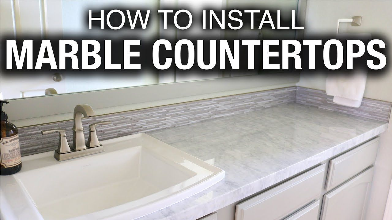 How To Install Drop In Sink On Granite Countertop 2020