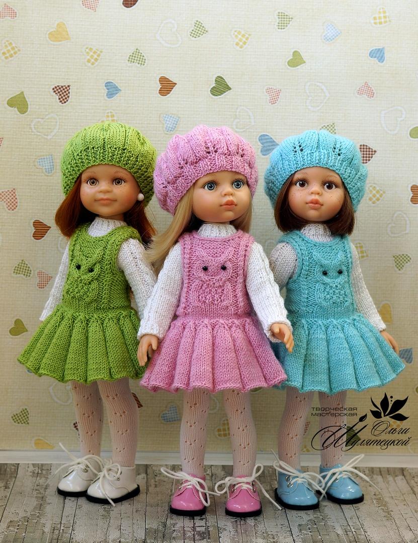 Испанские куклы Paola Reina   Reina, Barriga