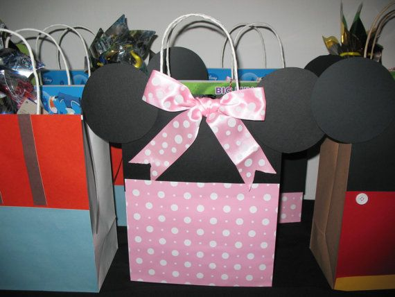 Disney Gift Bags For Birthday Parties By Baubarksandbean 4 00
