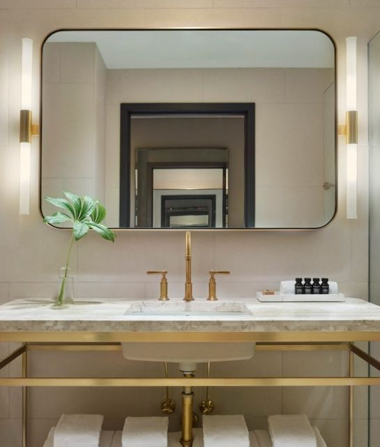 bathroom 11 howard in new york city usa - New York Bathroom Design