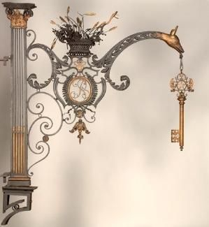 Paris Locksmith - sign c. 1760-1790 by Eva0707