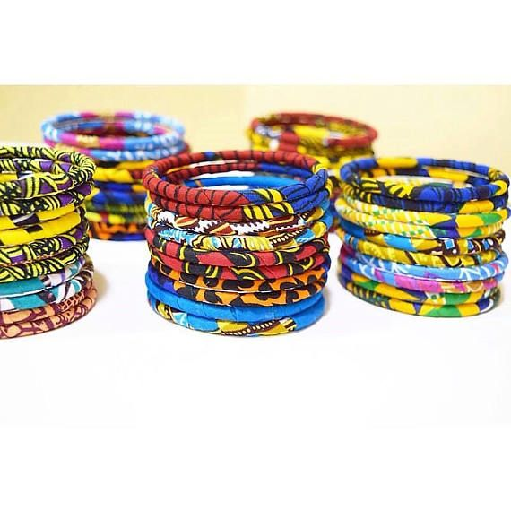 woman bracelet african loincloth african jewel ethnic jewel african bracelet Wax bracelet handmade woman gift african print