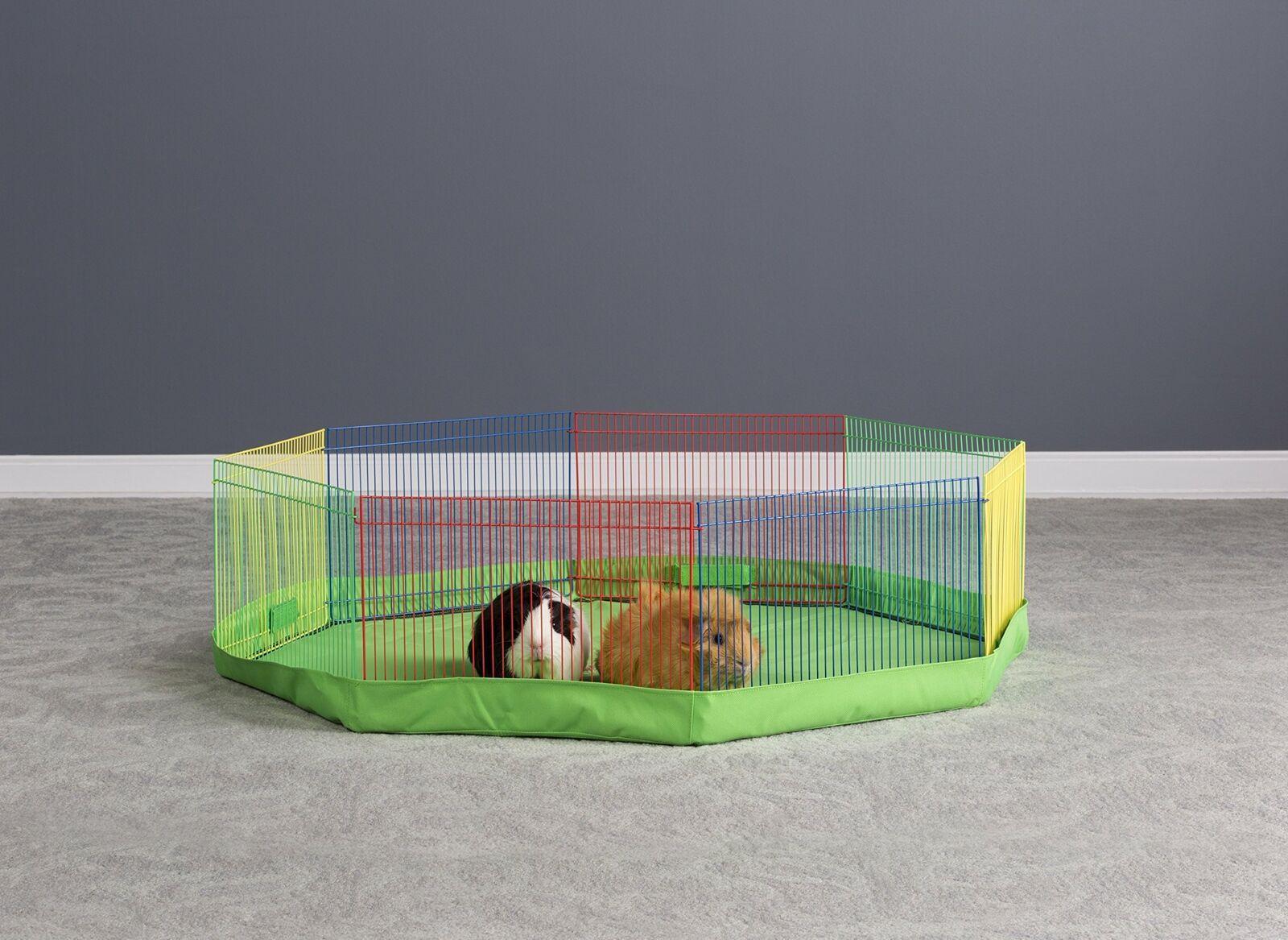 Prevue Pet Products Multi Color Small Pet Playpen 40090 Ebay Pet Playpens Small Pets Small Animal Bedding