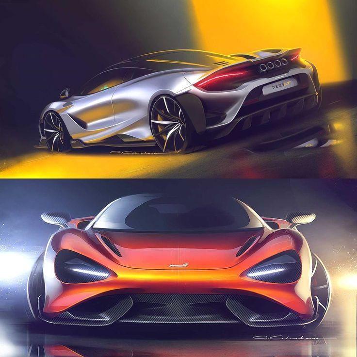 "#cardesigndaily  #cardesign  #car…"" #Daily #Instagram: Car Design Daily on Instagram: ""McLaren 765LT Official Sketches By Gareth Culverhouse For requests follow @michaeltachejian . . . . . ."