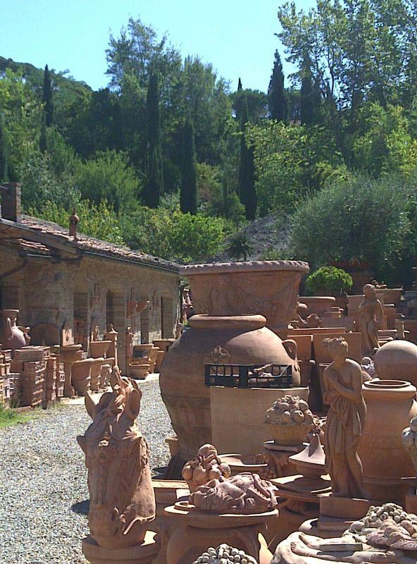 Tettacotta at impruneta your posts terracotta toscana for Masini terrecotte impruneta