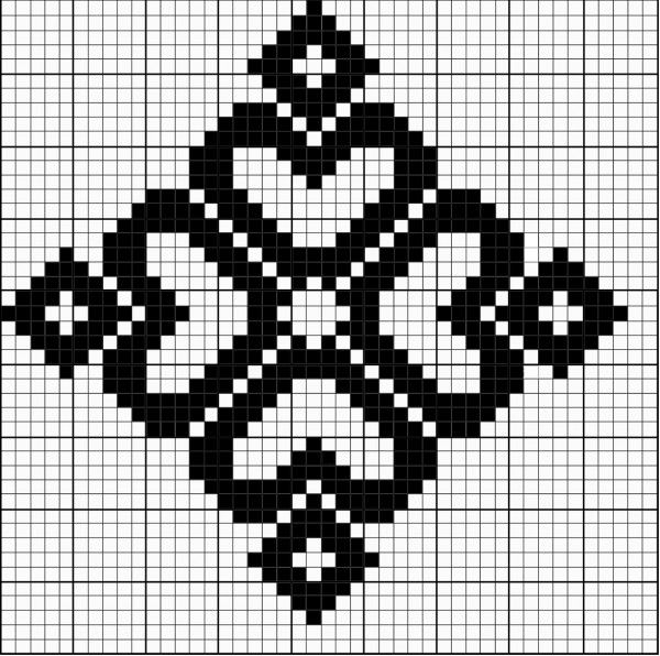 stands Crochet Graph,Tunisian,Tapestry, Pinterest Star - cross stitch graph paper